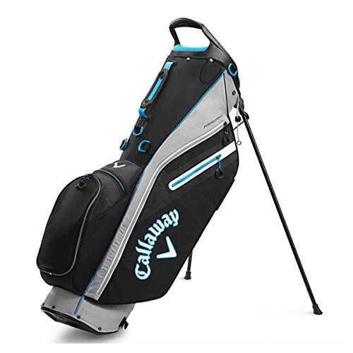 Callaway Herren Cg Bg St Fairway C Golftaschen, Unisex, 2020 Callaway Fairway C Standtasche, silber/schwarz, 5120246, silber / schwarz, Einheitsgröße