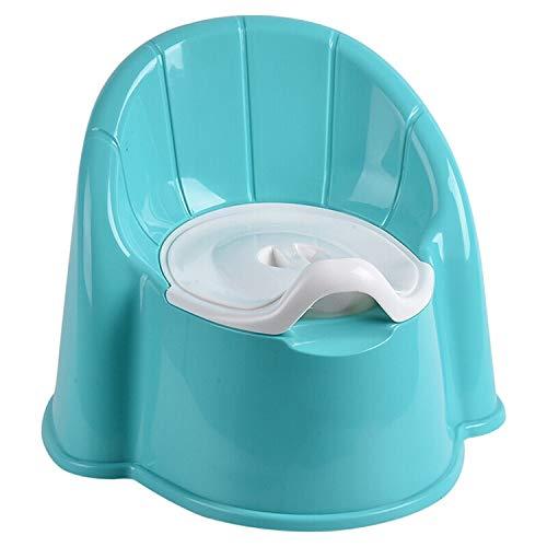 Nosterappou Pot Toilette urinoir WC Toilette pour Homme et Femme Toilette bébé Toilette Enfant (Couleur : Bleu)