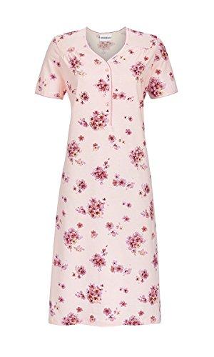 Ringella 8211062 dames nachthemd 100% katoen in poeder roze