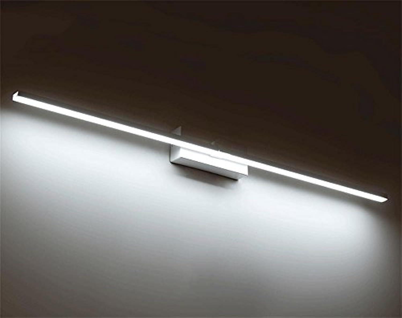 HOHE SHOP- Badezimmer moderne einfache wasserdichte Anti-fog Bad-Dresser Luxus LED Spiegel Scheinwerfer (Farbe   Weies Licht-10W-50cm)