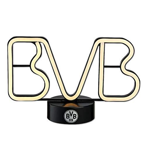 Borussia Dortmund LED Dekoleuchte Schriftzug, Leuchte, Lichtdekoration BVB 09 (L)