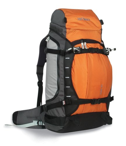 Tatonka Sac à Dos Alpin Peak 40, 40 L Orange/Charcoal 40 cm