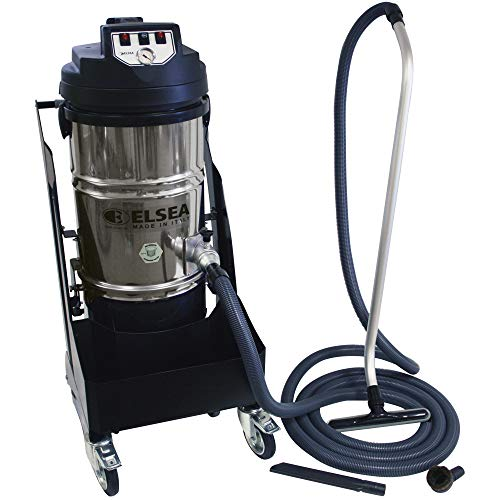 Affordable Cen-Tec Systems Vega 2 Motor High Performance Cyclonic Canister Vacuum with Filter Shaker...