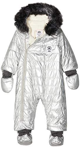 IKKS Junior Combi Pilote Silver Conjunto, Plateado (Argent 18), 6-9 Meses (Talla del Fabricante: 6M) para Bebés