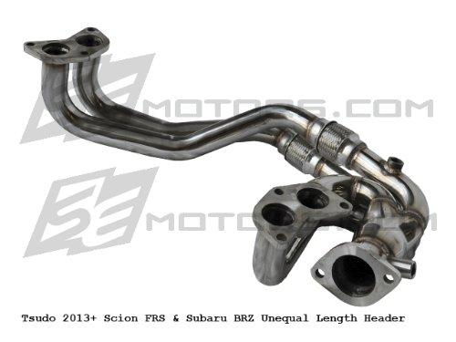 Tsudo Compatible/Replacement for 2013+ Scion FRS & Subaru BRZ Unequal Length Header