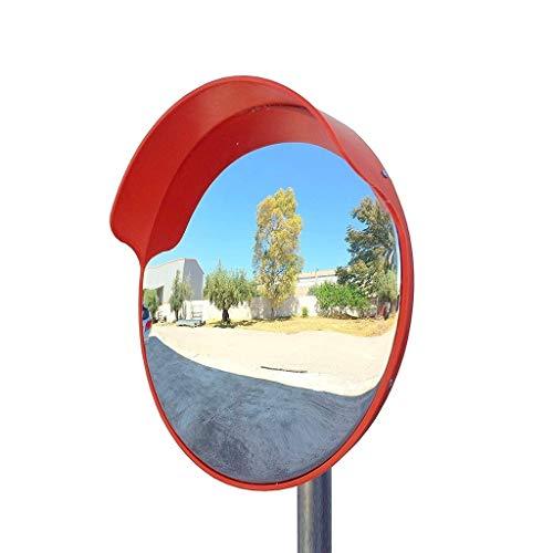 Strijkplank Kleding studio 45CM Verkeersspiegel, PC Plastic Wide-angle Lens Kleine Draagbare Indoor Anti-diefstal Spiegel Outdoor Convex Veiligheidsspiegel Sterk ademend vermogen