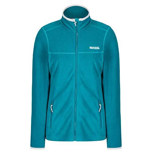 Regatta Damen Floreo II Stretch Full-Zip Fleece Jacke, Blau (Deep Lake), 52 EU (Herstellergröße: 26)