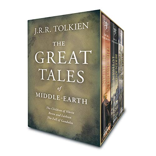 The Great Tales of Middle-Earth: Children of Húrin, Beren and Lúthien, and the Fall of Gondolin