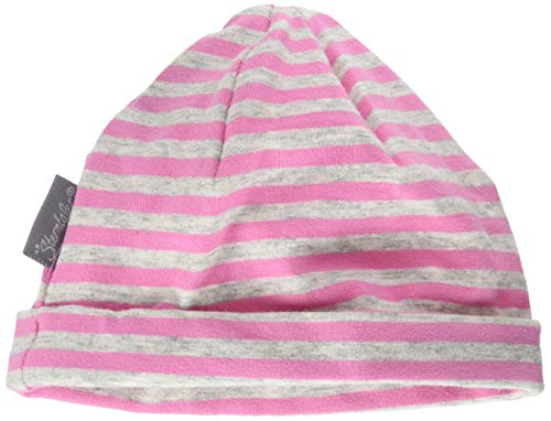 Sterntaler Beanie Hat with Turn Up Bonnet, Rose (Orchidee 779), XXXX-Large (Taille fabricant: 47) Bébé Fille