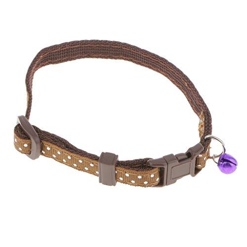 B Blesiya - Collar de Seguridad Ajustable para Perros, Gatos, con Campana