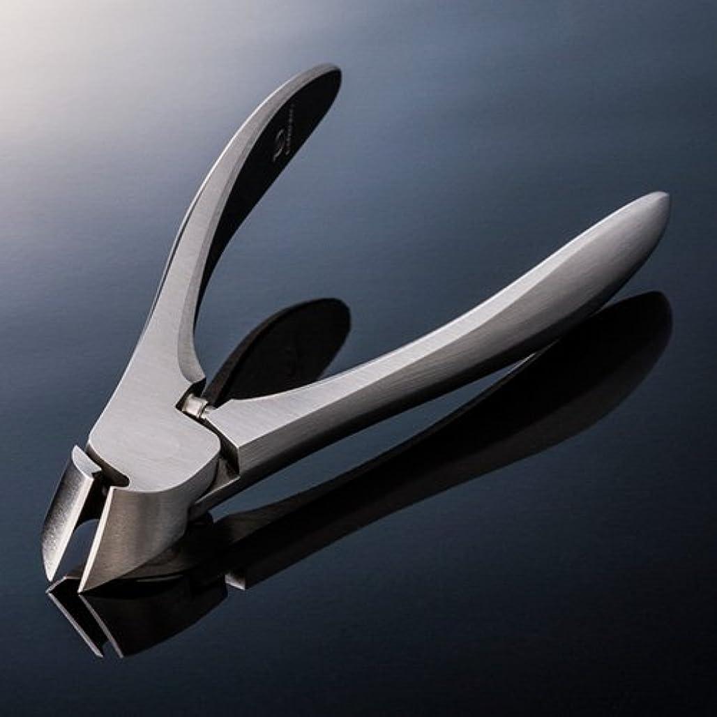 ラダ侮辱傷跡スワダ 爪切り 【クラシック足用】 専用メタルケース+SUWADA製爪やすり付き
