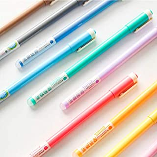 Gel Pens   Aihao 4651 10 0.5mm Colored erasable Gel pens School & Office Stationery Supplies 10pcs/lot   by CUSODI
