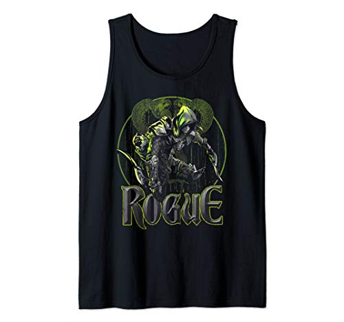 Elven Rogue Assassin Fantasy Roleplaying Dungeons RPG Gamers Tank Top