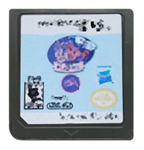 TYLJ MYBHD DS Cassette de Juego con Tarjeta de Consola Littlest Pet Shop Playa Amigos Nintendo DS 3DS 2DS (Color : Beach Friends USA)