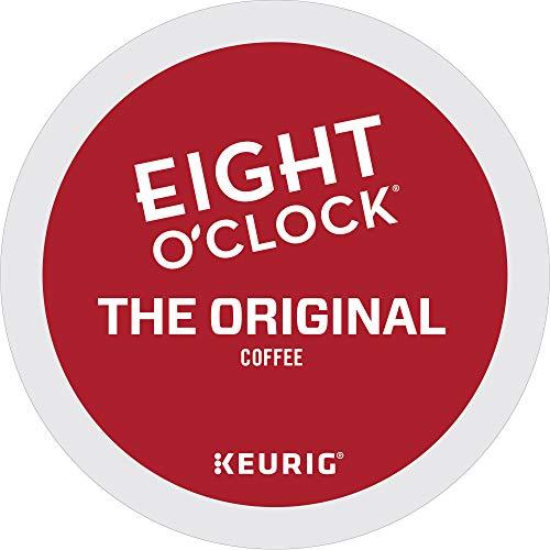 Eight O'Clock Coffee The Original, Single-Serve Keurig K-Cup Pods, Medium Roast Coffee, 96 Count