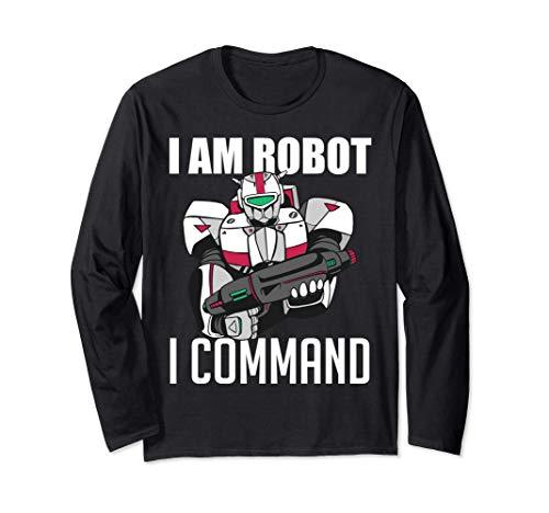 Je suis un robot Je commande un outil mécanique Robot Manche Longue