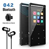 Grtdhx MP3 Player with Bluetooth, 8GB Portable Digital Music Player with FM...