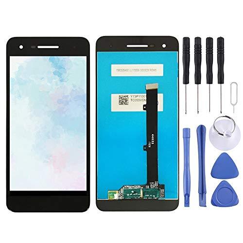 XCVBN De reemplazo de pantalla táctil de la pantalla LCD de reparación y digitalizador Asamblea completa for Vodafone inteligente V8 VFD710 (negro) Juegos de montaje de pantalla + enteros Herramientas
