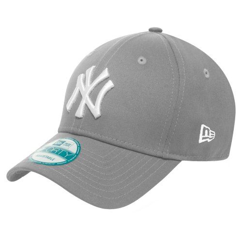 New Era 9Forty Cap - New York Yankees grau/weiß