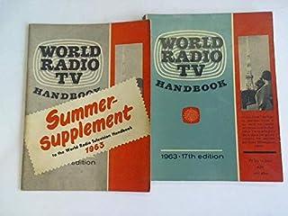 World Radio TV Handbook 1963 - 17th edition/ Summersupplement to the World Radio Television Handbook 1963. 2 Hefte