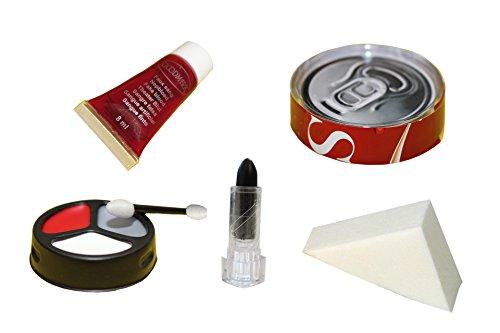 Good Mark Kit de maquillage Zombie Chef, 1er Pack (1 x 8 pièces)