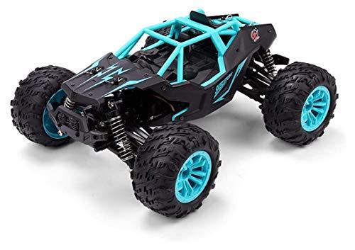YYQIANG 2.4G 4WD Control remoto All Terreno Coche Metal + Plastic 1:14 Cepillado PET 36km / h High Speed RC Coche Juguete Off-Road Coche 36km / H Para 6+ Niños -Boy-girl Cumpleaños Regalo de vacacio