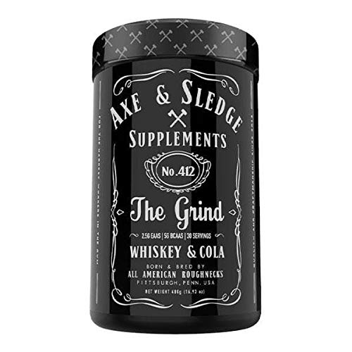 Axe & Sledge - The Grind - EAAs/BCAAs 480g (Whiskey & Cola)
