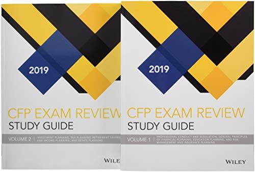 Wiley Study Guide for 2019 CFP Exam: Complete Set