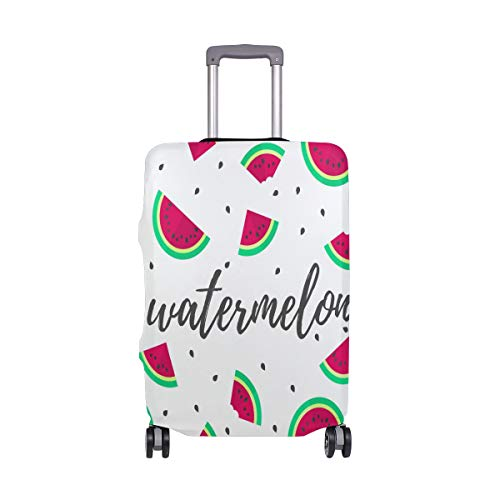 ALINLO Watermelon Pattern Luggage Cover Baggage Suitcase Travel Protector Fit for 18-32 Inch