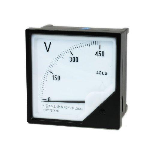 Aexit AC 450V Analog Volt Voltage Panel Meter Voltmeter Messgerät Werkzeug 42L6 (24e5abbf63ff5702ec09831740528a63)