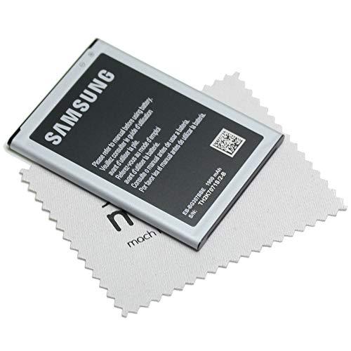 Batteria originale Samsung EB-BG357BBE per Samsung Galaxy Ace 4, Galaxy S4 Mini (G357F / i9195) con panno per la pulizia dello schermo mungoo