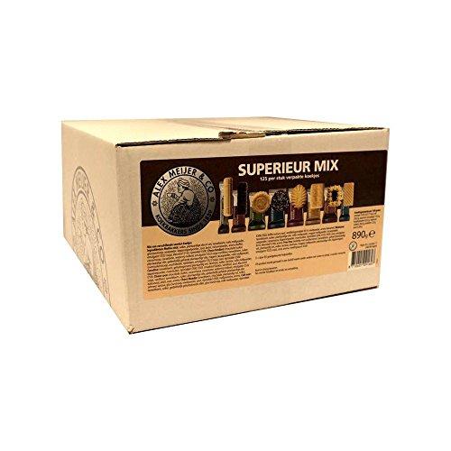 Alex Meijer Kaffee-Kekse 'Koekjesmix Superieur' 125 Stck.
