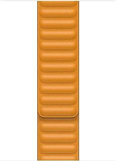 Apple Pasek zkarbowanej skóry wkolorze kalifornijskiego maku do koperty 44mm– S/M
