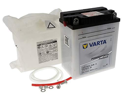 Preisvergleich Produktbild Batterie VARTA Powersports Freshpack YB12A-A / 12N12A-4A-1 für KAWASAKI Z 440,  A,  B,  C,  H,  LTD 440ccm 80-85 [ inkl.7.50 EUR Batteriepfand ]