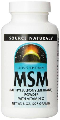 Source Naturals MSM (Methylsulfonylmethane), Powder, 8 Ounce
