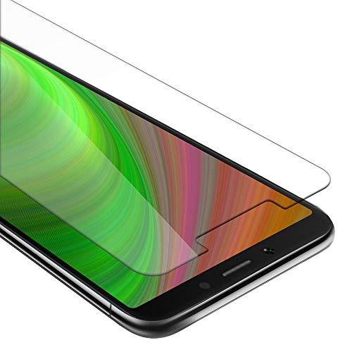 Cadorabo Panzer Folie für Xiaomi RedMi 6A - Schutzfolie in KRISTALL KLAR – Gehärtetes (Tempered) Bildschirm-Schutzglas in 9H Festigkeit mit 3D Touch Kompatibilität