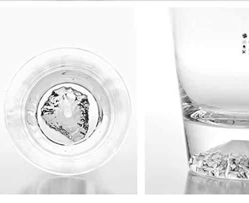 田島硝子『富士山ロックグラス(TG15-015-R)』