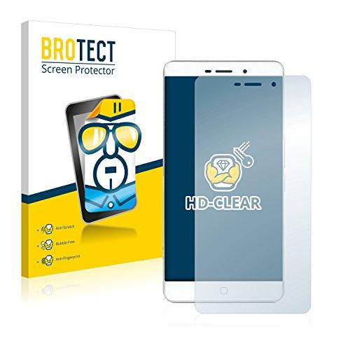 BROTECT Schutzfolie kompatibel mit Elephone P9000 Lite (2 Stück) klare Bildschirmschutz-Folie