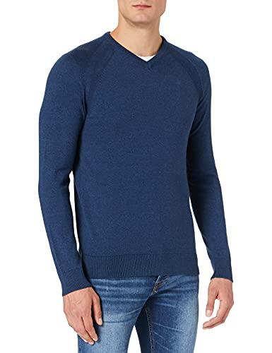 Blend Herren 20711801 Pullover, 194024_Dress Blues, L