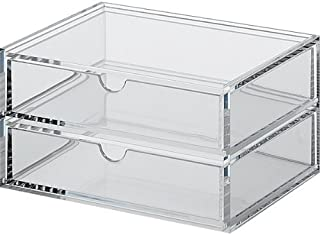 Muji Acrylic Case 2 Drawers - Small