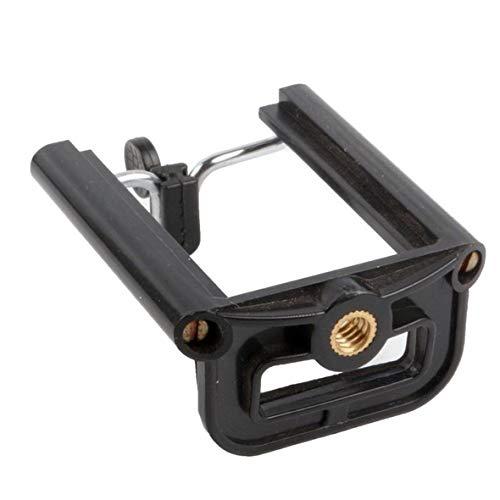 Heaviesk Kamera Stativ Adapter Moblie Telefon Clip Halterung Halter Halterung Stativ Einbeinstativ für Smartphone