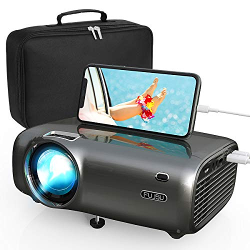 Mini Projecteur, Portable 5500 Lumens Videoprojecteur Supporte 1080P...
