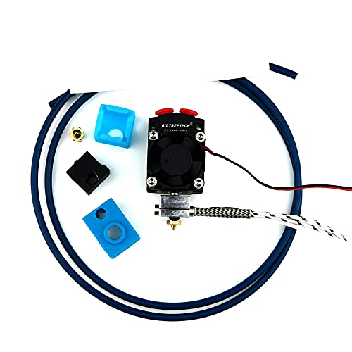 Bigtreetech 2 in 1 out hotend, multi color V6 hotend, z B für Geeetech A10 / A10M / A10T etc. (24V / Set 2)