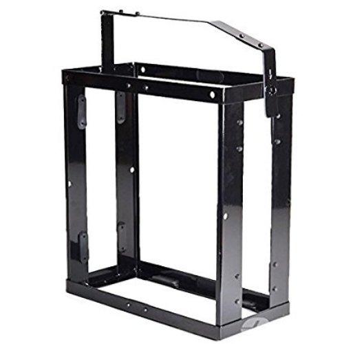 Oxid7® Kanisterhalterung für 10 oder 20 Liter Metall Kanister - Benzinkanister Halterung abschließbar für 20L Metallkanister