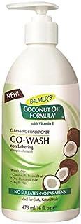 Palmer's Coconut Formula Co-Wash Cleansing Conditioner, Shampoo Alternative 473ml - パーマーのココナッツ式コウォッシュクレンジングコンディショナー、シャンプー代替473ミリリットル [並行輸入品]