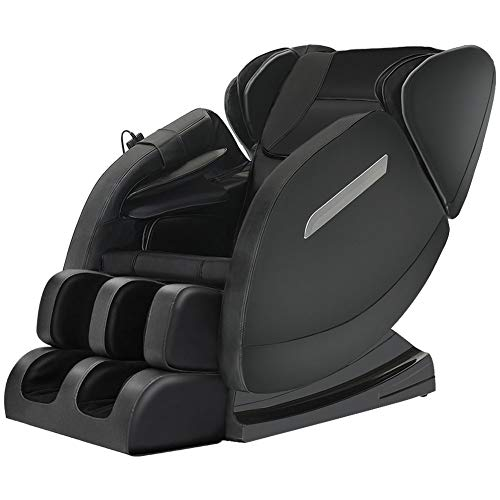 Massage Chair Recliner with Zero Gravity, Full Body Air Pressure, Bluetooth, Heat and Foot Roller...