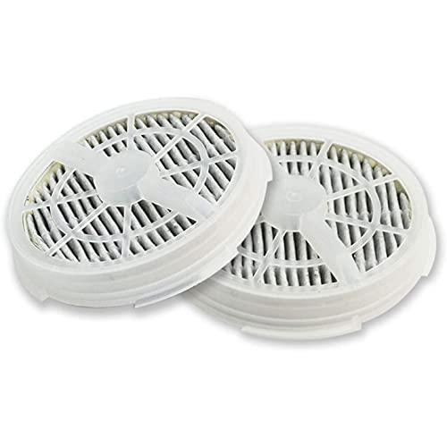 Cuasting Filtro HEPA de repuesto + filtro de carbón activado para purificador de aire portátil RIGOGLIOSO GL-2103 / GL-2100