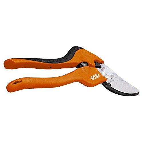 Bahco PG-S1-F BHPG-S1-F Sécateurs ergonomiques de jardin à poignée fixe, Multicolore, 175 mm