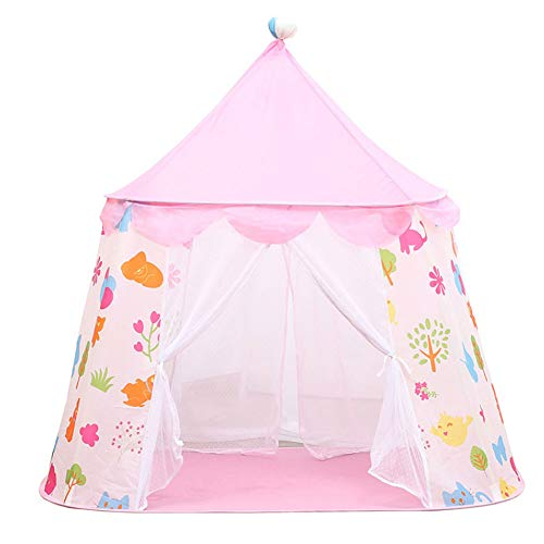 MXYPF Portable Children Tent Toy Ball Pool, Princess Castle Play House, Kids Small House Folding Playtent, Baby Beach Tent Birthday Gift