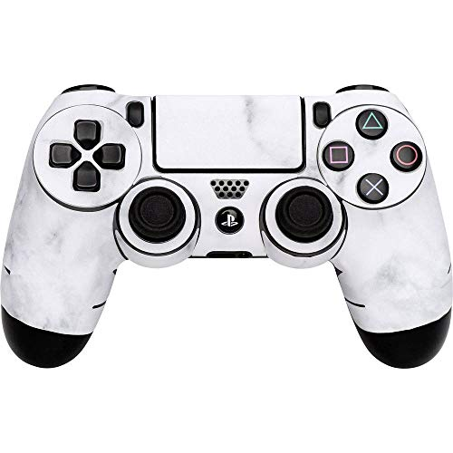 Software Pyramide Skin für PS4 Controller White Marble Cover PS4
